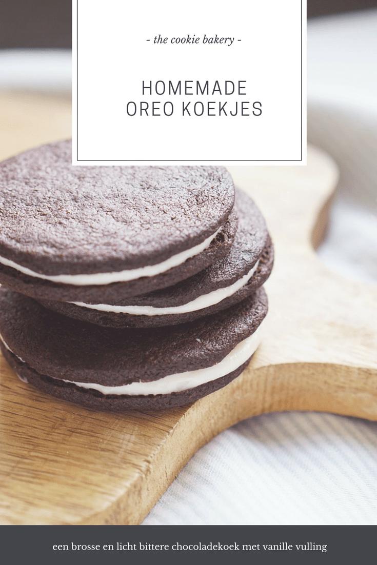 oreo koekjes recept 4 - The Cookie Bakery | Homemade Oreo koekjes
