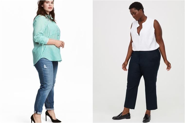 hm plus size nieuwe stijl 4 - Hoera voor de H&M Plus Size nieuwe stijl!