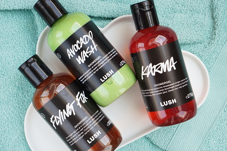 lush kitchen showergels 1 - Love it! | Lush Kitchen showergels