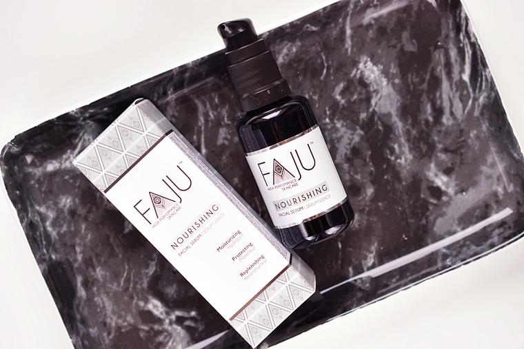 FAJU nourishing facial serum review
