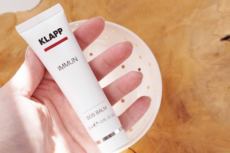 klapp cosmetics sos balm review