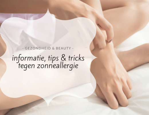 zonneallergie tips