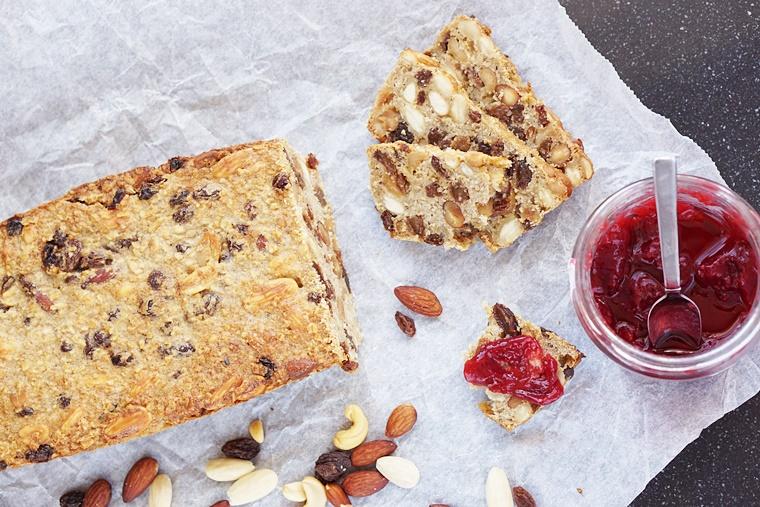 noten en vruchten brood recept