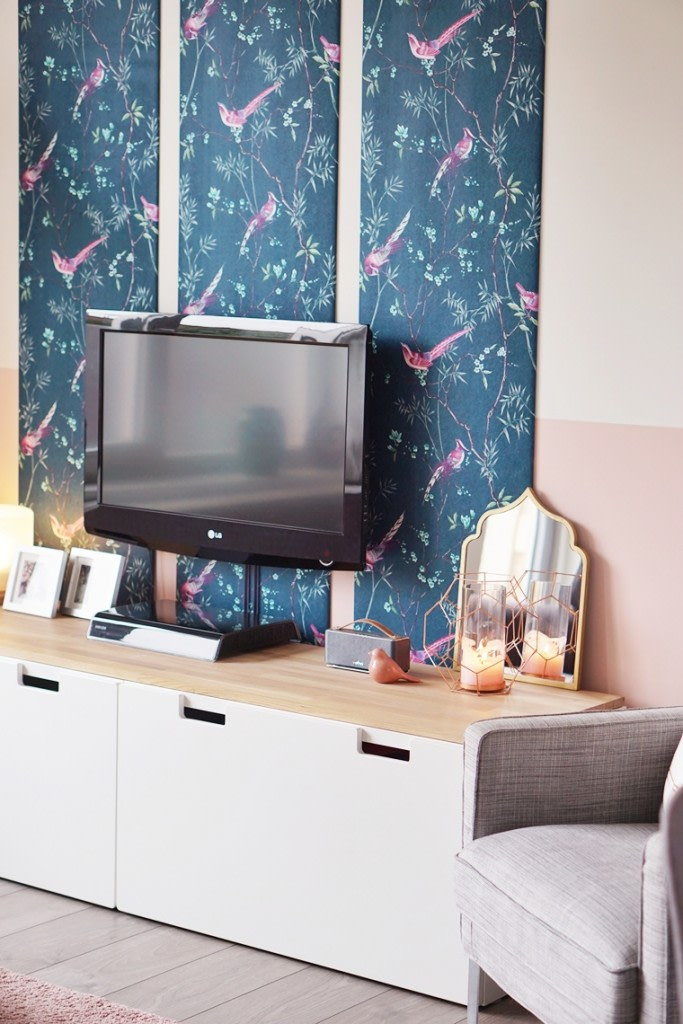 diy tv hoek 4 - Home | DIY mini make-over TV hoek