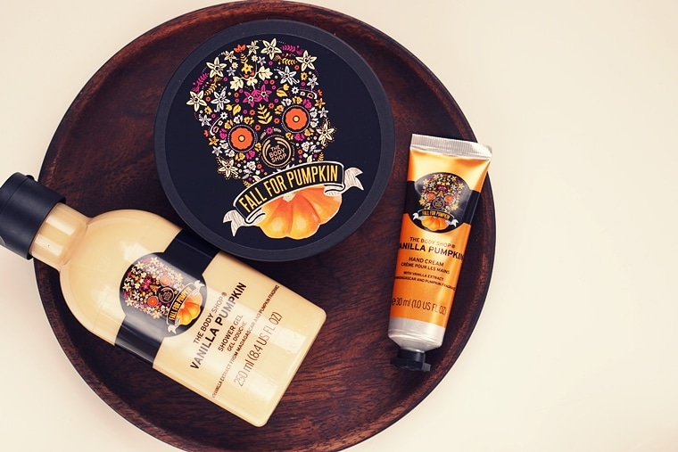 the body shop vanilla pumpkin 2018