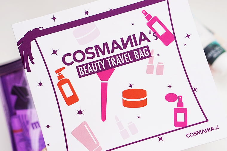 cosmania beauty travel bag inhoud 1 - Unboxing | Cosmania Beauty Travel Bag