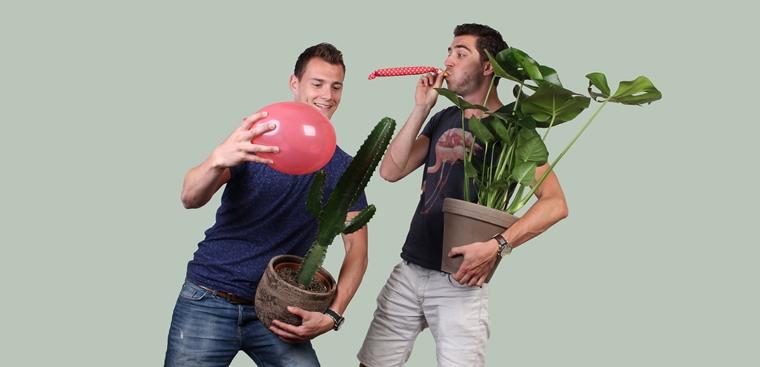 Plantsome interview ondernemen Axel en Thom
