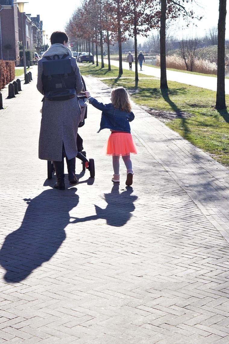 eerste wandeling met baby