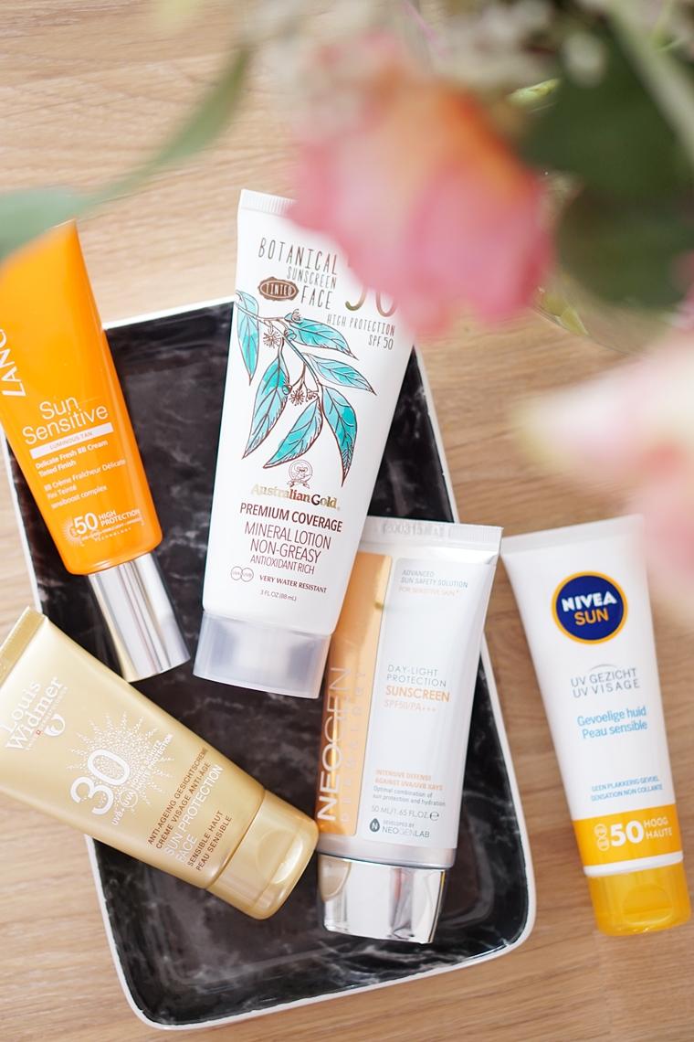 spf voor je gezicht 2 - SPF voor je gezicht (inclusief tips voor de gevoelige huid)