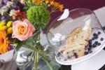 Recept | Cake met skyr en blauwe bessen