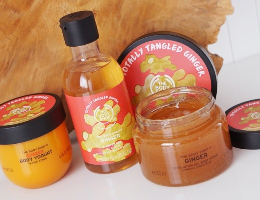 the body shop energising ginger