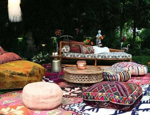 bohemian garden inspiratie (oosters tintje / Merel in Wonderland)