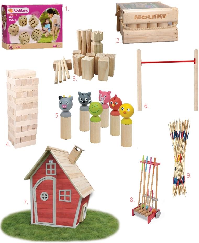 houten buitenspeelgoed 1 - 9 x het leukste houten buitenspeelgoed