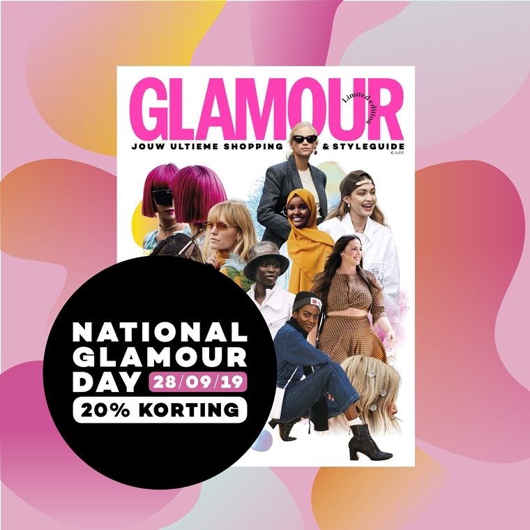 National Glamour Day 28 september 2019