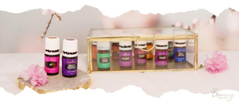 blooming blends aromatherapie essentiële oliën