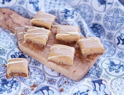 fudge met bastogne en witte chocolade recept