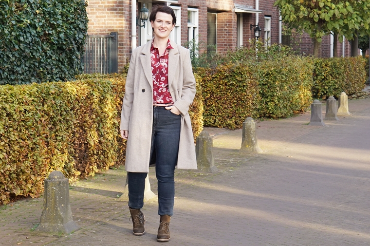 double v shoes roller veterlaars outfit 1 - Outfit of the day | Liefde voor de herfst