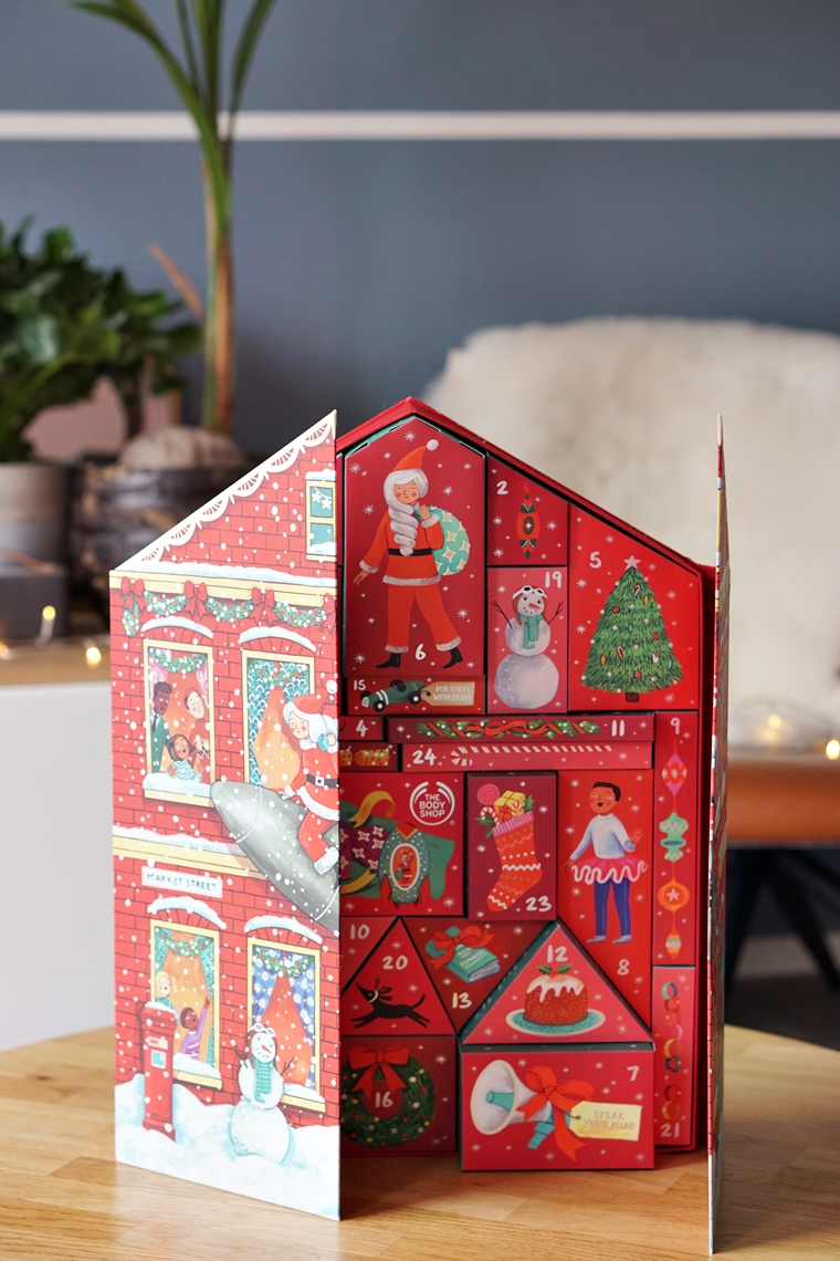 The Body Shop adventskalender Deluxe 2019