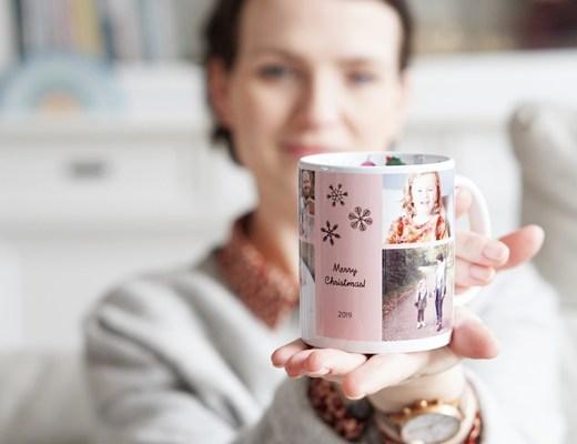 gepersonaliseerde cadeautjes met foto Kerst