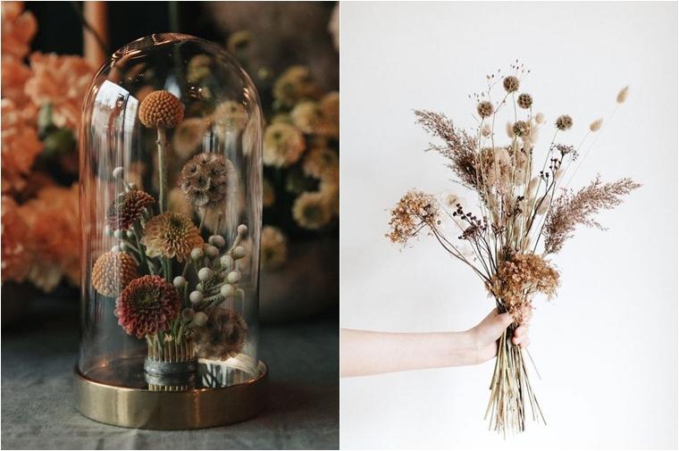 droogbloemen inspiratie tips 4 - On Trend | Droogbloemen in huis