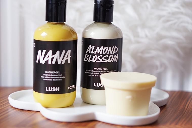 lush nana almond blossom review 1 - Love it! | Nieuwe doucheproducten van Lush