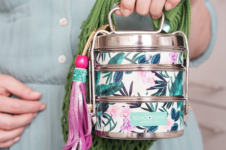 boho tiffin 1 - Duurzaam & Hip | De Boho Tiffin lunchbox