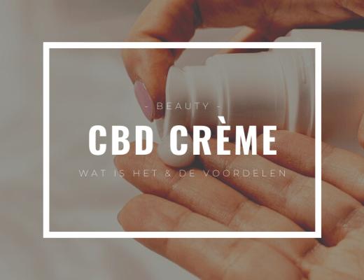 CBD crème informatie en voordelen