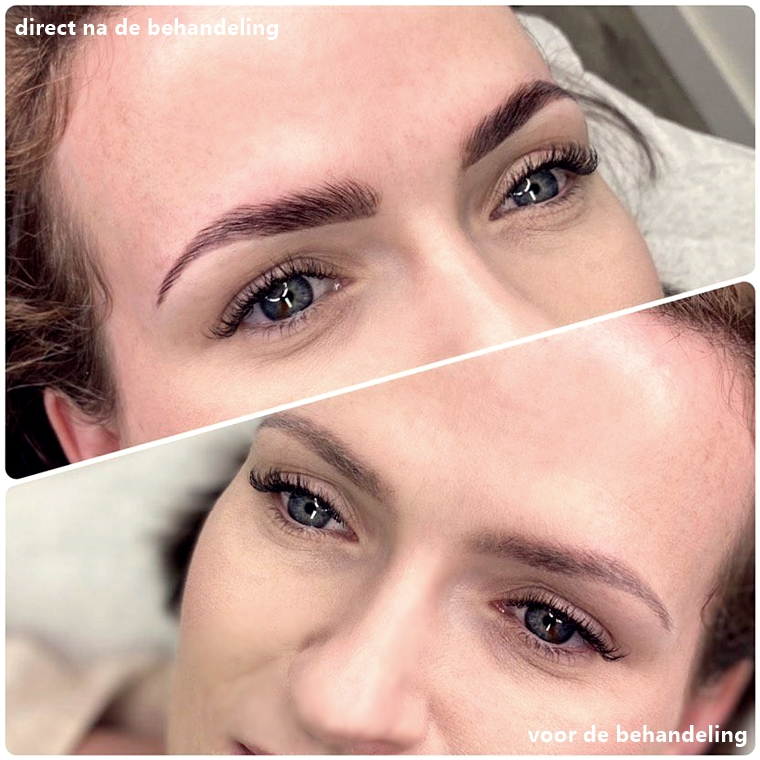 brow lamination brow lift arnhem brows by ellis 1 - Het resultaat van mijn brow lift / brow lamination