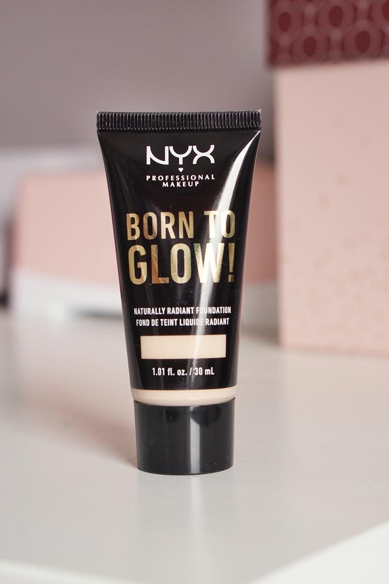 nyx born to glow foundation review 4 - Foundation Friday | NYX Born to glow!