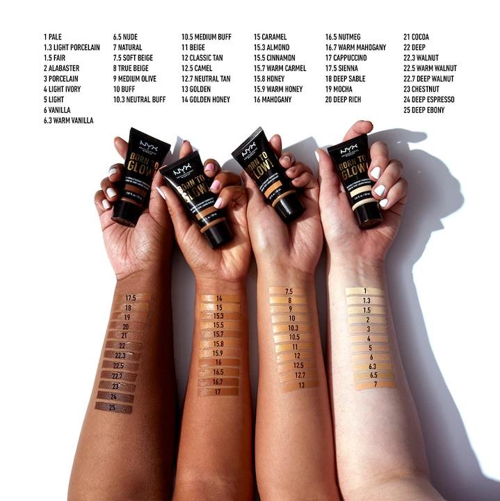 nyx professional makeup nyx professional makeup bo - Foundation Friday | NYX Born to glow!
