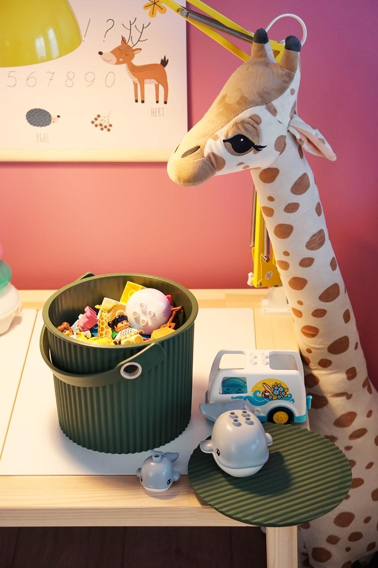 hachiman omnioutil bucket emmer speelhoek 2 - Home | Een update van het speelhoekje voor de meiden
