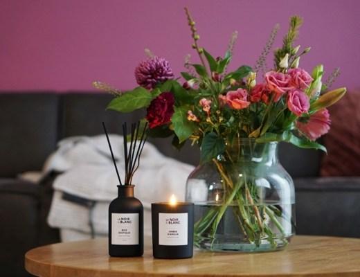 Karwei Le Noir & Blanc geurstokjes en geurkaars