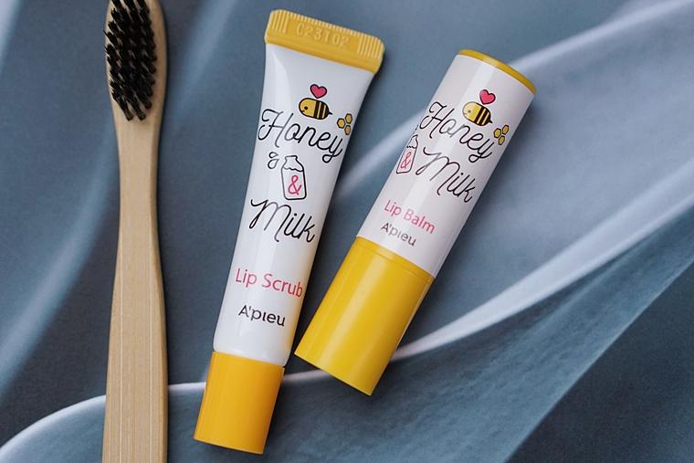korean skincare apieu honey milk lip 3 - How to | Velletjesvrije en zachte lippen in 3 stappen