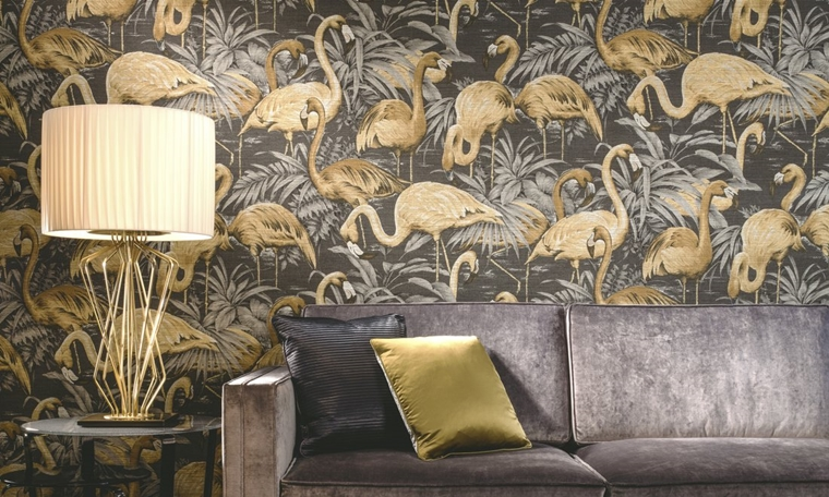 flamingo behang trend tips 5 - Interieur | Het leukste flamingo behang