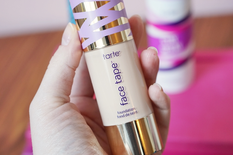 tarte face tape foundation review 3 - Foundation Friday | Tarte Face Tape foundation