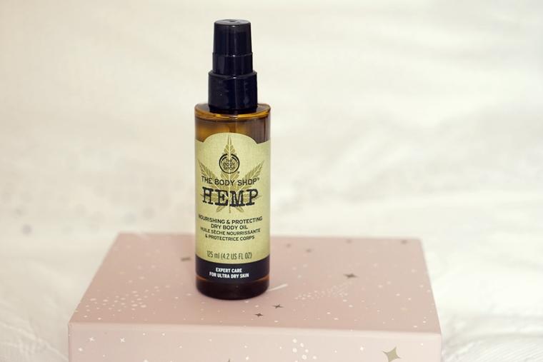 the body shop hemp dry body oil review 1 - Love it! | The Body Shop Hemp dry body oil