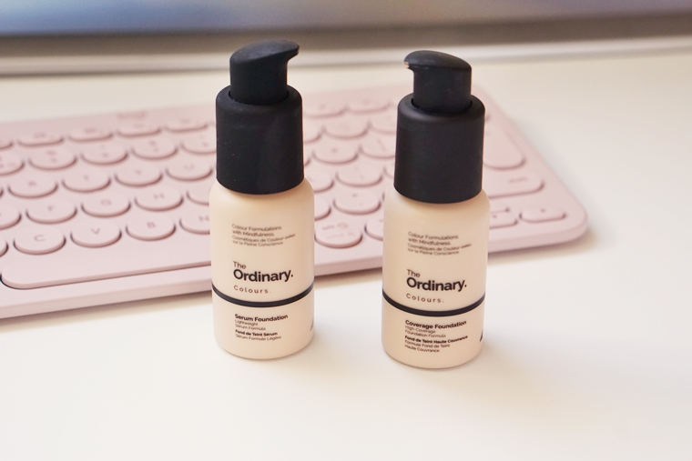 the ordinary serum foundation coverage foundation 3 - Foundation Friday | The Ordinary serum foundation vs. coverage foundation