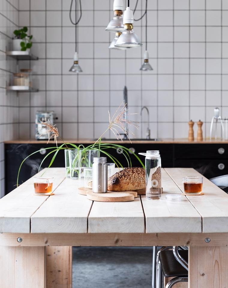 eethoek eettafel inspiratie interieur 1 - Interieur inspiratie | De eethoek als hart van het huis