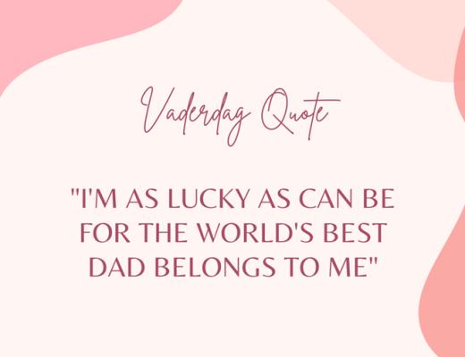 vaderdag quote