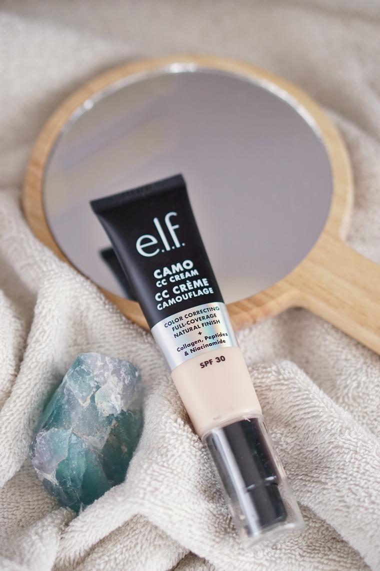 elf camo cc creme review camouflage fair 120 5 - Foundation Friday | elf Camo CC Crème (IT Cosmetics CC Cream dupe?)