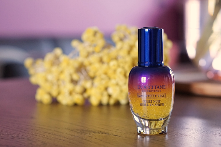 loccitane immortelle oil in serum - Beautytalk | The Body Shop, L'Occitane, Paula's Choice, Keune & HEMA