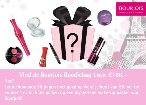 Aankondiging - Maak kans op een Bourjois goodiebag t.w.v. €160,00!