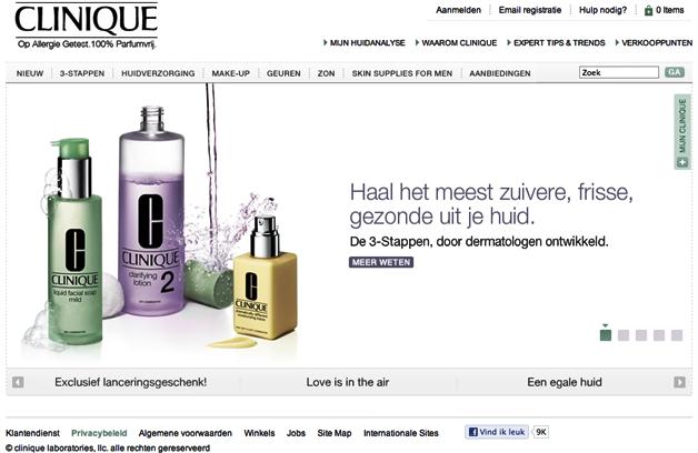 Newsflash | Clinique Nederlandse webwinkel