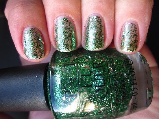 NOTD OPI Fresh Frog Of Belair 1 - OPI | The Muppets collectie