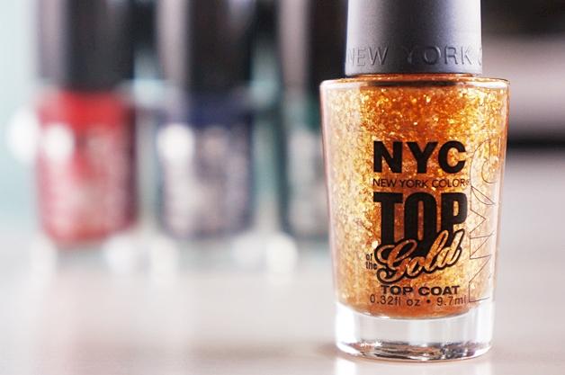 NYC future shock nagellak 3 - NYC   Future Shock nailpolish & The Gold topcoat