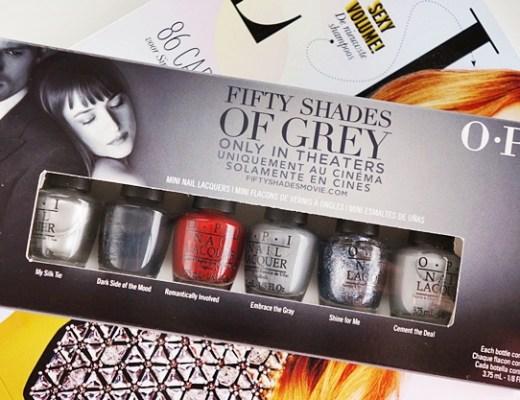 OPI 50 fifty shades of grey 1 - OPI Fifty Shades of Grey collectie