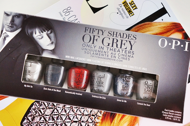 OPI 50 fifty shades of grey 1 - OPI Fifty Shades of Grey collectie