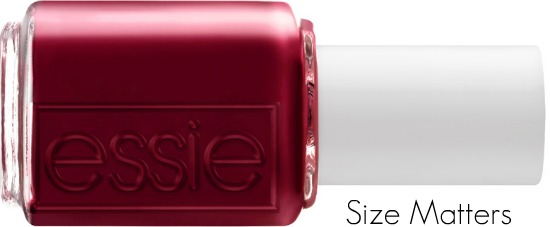Size Matters Front - Essie   Winter 2011 collectie 'Cocktail Bling' (persbericht)
