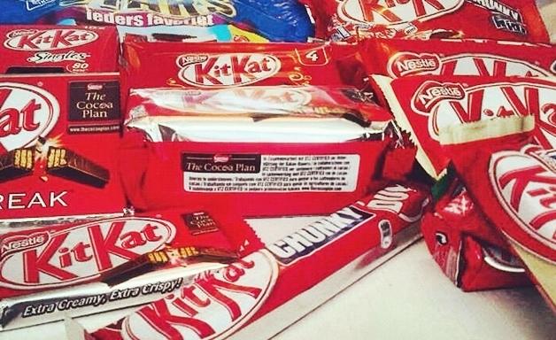 Twitter winactie - Kit Kat assortiment