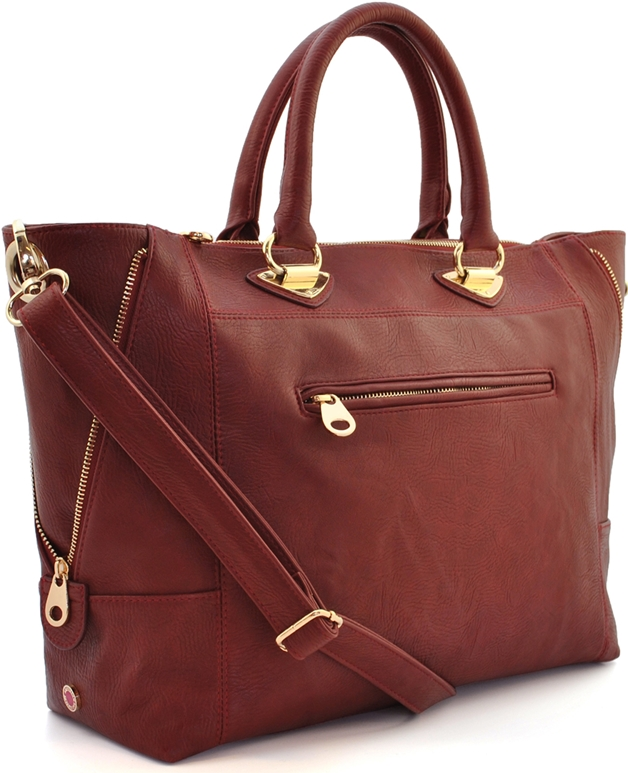 I'm in love! Amsterdam Bag Company 'Ivy Red'